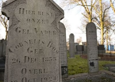Grafstenen begraafplaats Tjamsweer