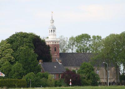 Kerkgebouw Tjamsweer omgeving