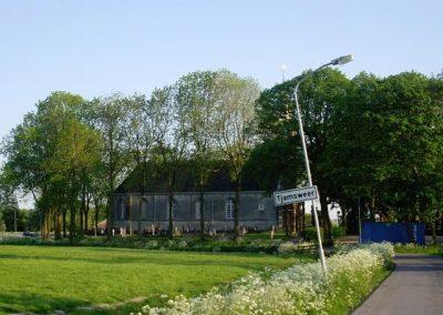 Kerkgebouw in Tjamsweer