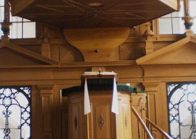 Kansel kerk Tjamsweer