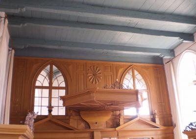 Koorafsluiting kerk Tjamsweer
