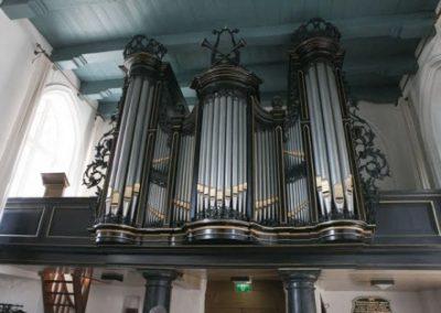 Orgel kerk Tjamsweer