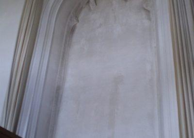 Dicht raam kerk Tjamsweer